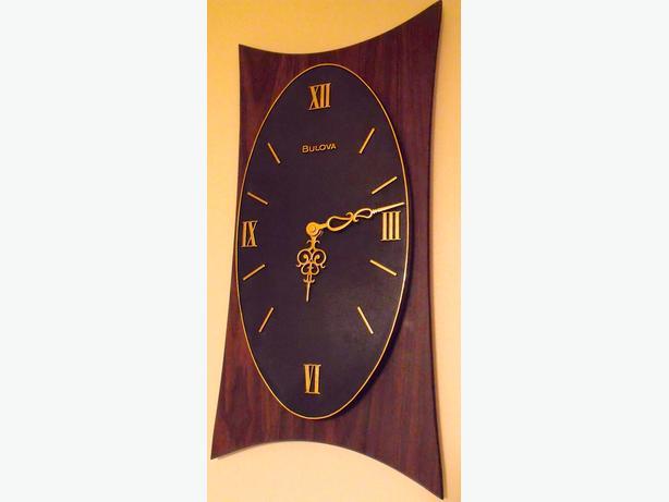 Vintage Clock Atomic Mid Century / Retro Wall clock