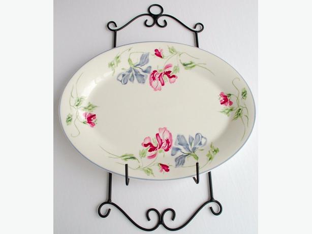Royal Doulton Amethyst 13.5 Expressions Fine English China Serving Platter