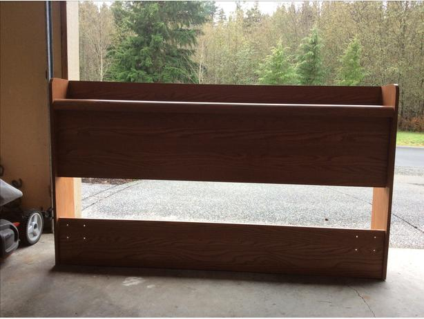 FREE: Double head board and frame