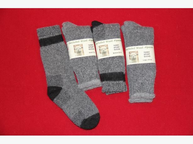 Alpaca Terry Sports Socks