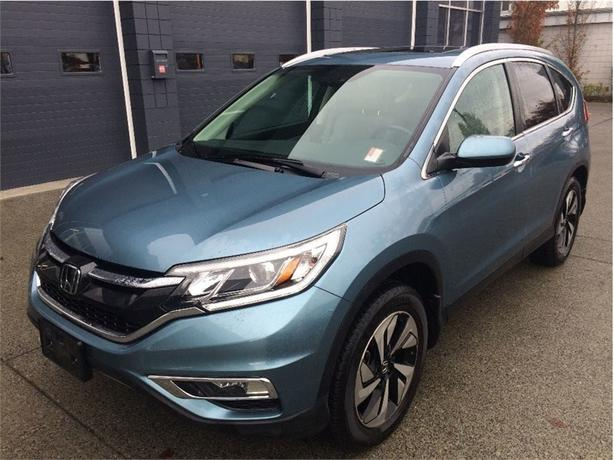 2016 Honda CR-V Touring AWD NAVI LEATHER HONDA SENSING