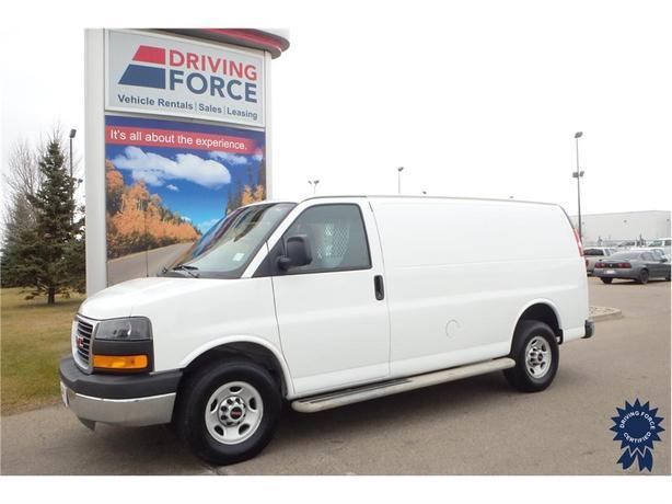 2016 GMC Savana Cargo Van