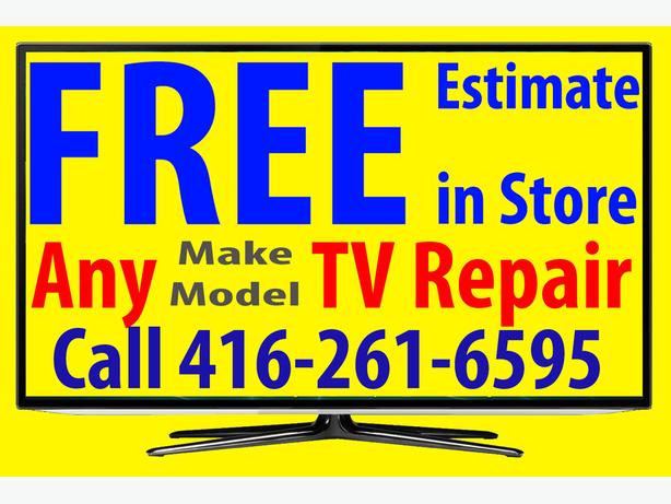 TV Repair Toronto, Brampton, Mississauga