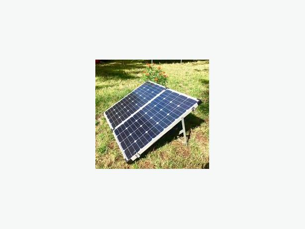 Easy DIY Setup   140W or 180W   Portable Foldable Solar System  