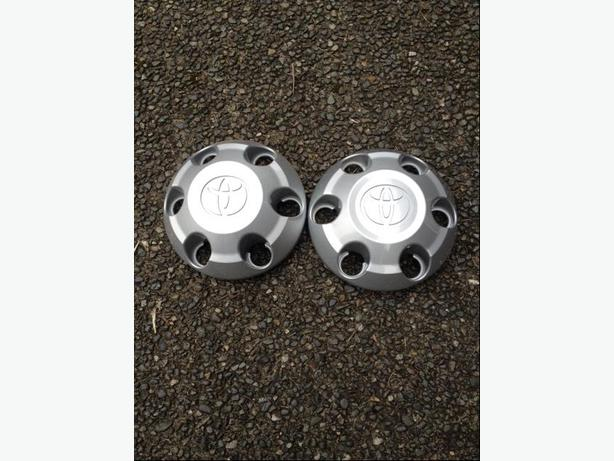 Pair of Toyota Tacoma Hub Caps