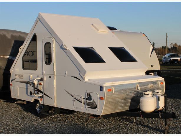 2013 Forest River Rockwood Premier 128S A-Frame Tent Trailer