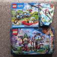 2015 Lego City 60086 and 2013 Lego Chima 70200. BOTH FACTORY SEALED!