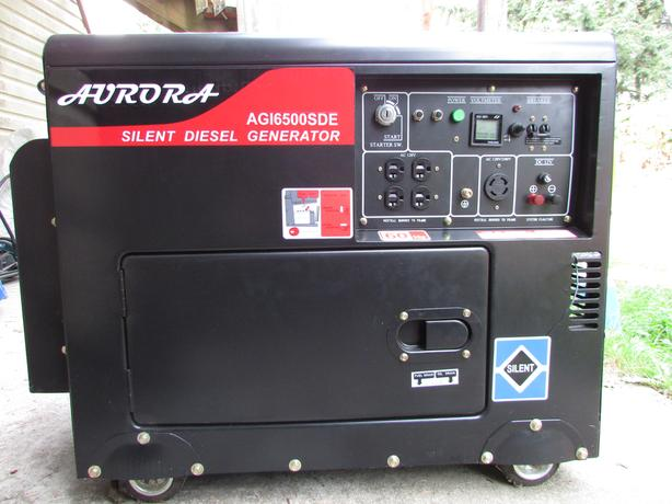 Aurora 6500 Watt Heavy Duty Silent Diesel Generator