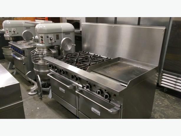 Woodstone Pizza Oven, Hobart Mixers & Dishwasher - Multiple Shop Auction!