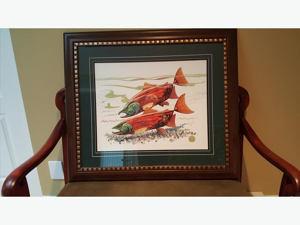 """TUK Caldwell Signed Limited Edition Print """"Home at Last"""""""