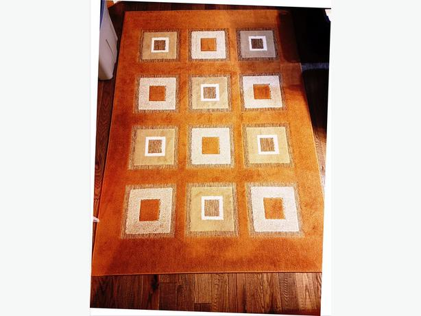 AREA RUG IN EARTHLY COLORS