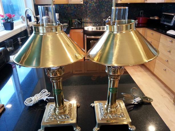 *** 'Chimney' Lamps