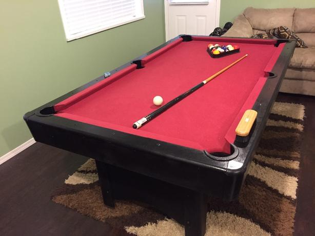 RARE 3' X 6' Pool Table