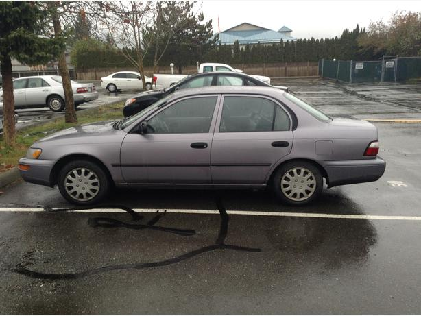 needs right front rotor, excellent car
