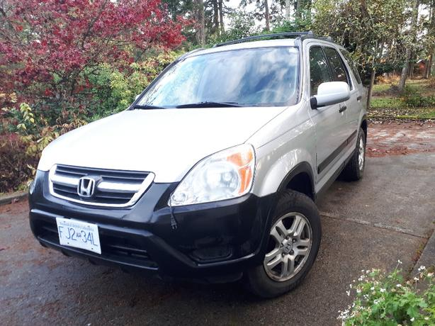 2005 Honda CR-V EX All Wheel Drive, Manual Transmission
