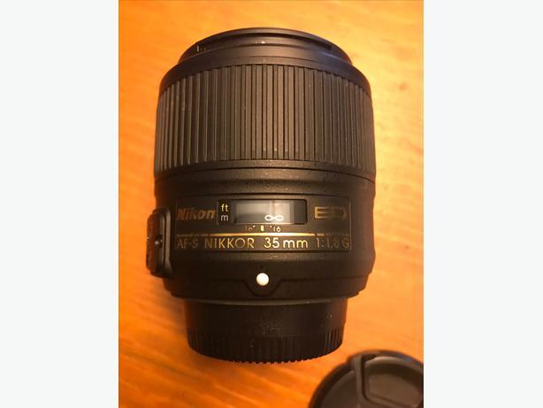 Nikon Nikkor 35mm 1.8G FX