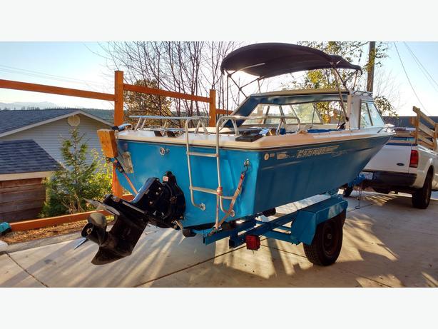 17' Campion Fishing machine