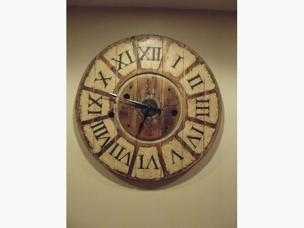 "36""/3ft Farmhouse Spool Clock"