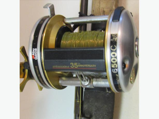 BAIT CAST ROD AND REEL