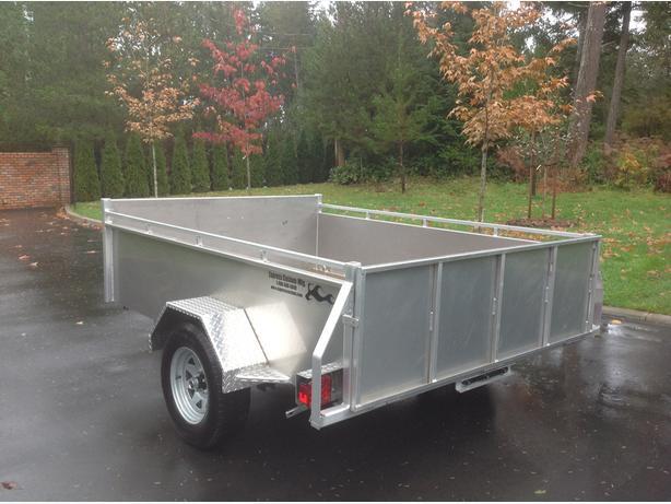 "6""x8"" aluminum Custom Express utility trailer"