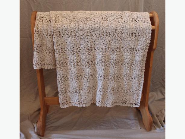 Handmade crocheted Tablecloth
