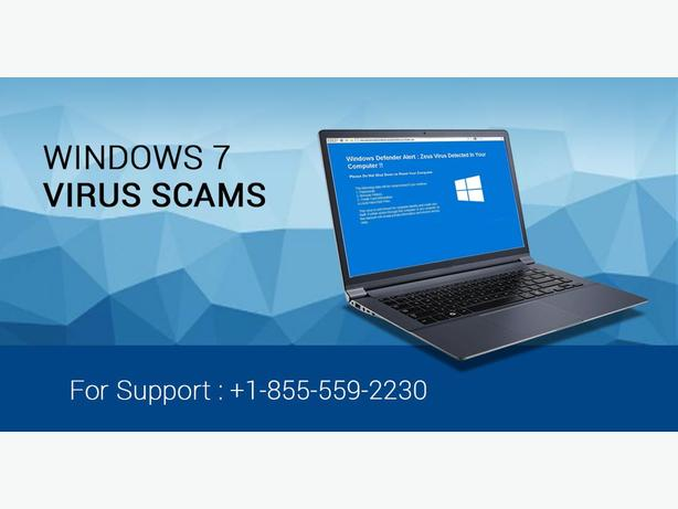 Are you facing the problem of Virus Scam on windows 7?