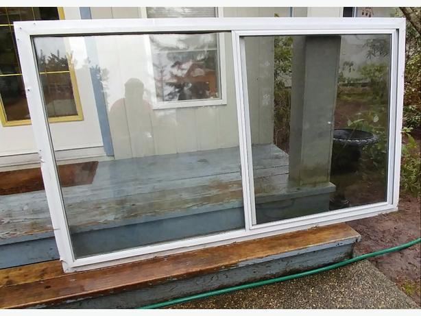 Sliding framed window