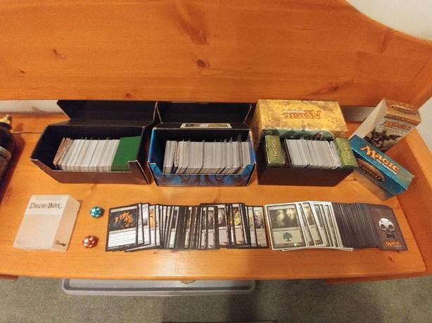 MTG: Magic The Gathering card collection