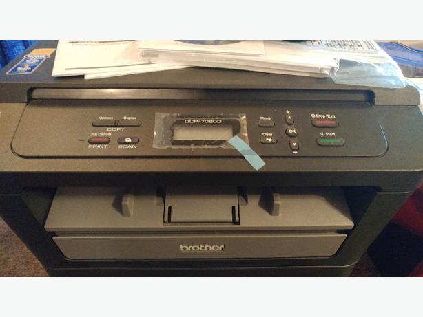 3 in 1 Brother laser printer