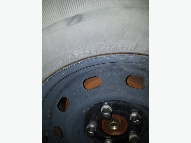 WANTED FOUR 265/70R 17 INCH TIRES
