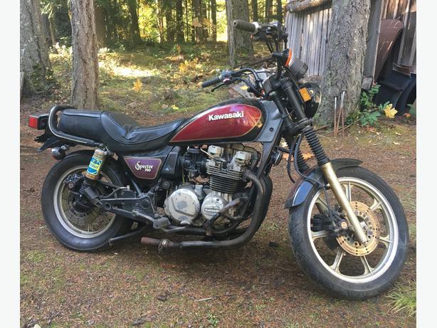 Kawasaki Spectre 750cc