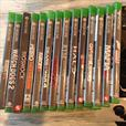 14 games  2 controllers & Kinect for XBOX ONE. (console not included)