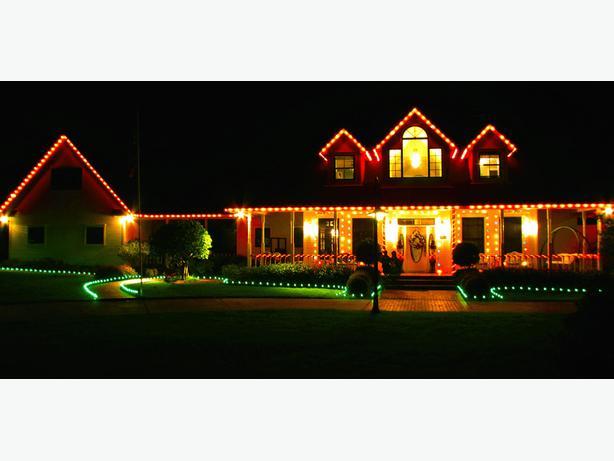 Holiday Light Setup  *Wesdale Home Maintenance*