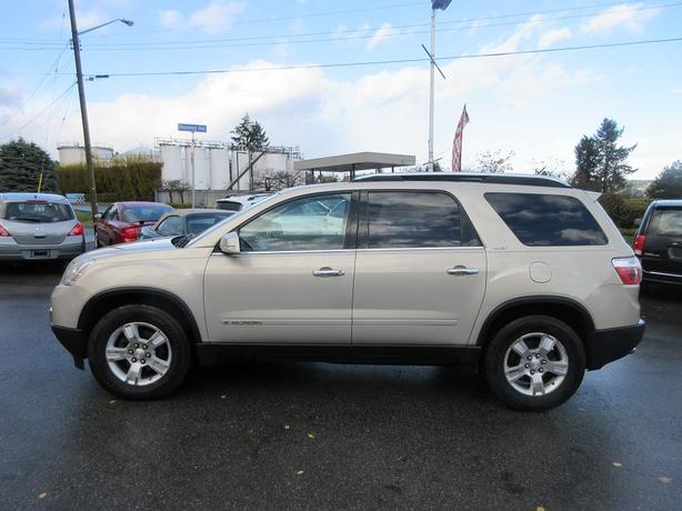 ON SALE! 2007 GMC ACADIA SLT 3.6L V6 AWD-BC ONLY! 3RD ROW!