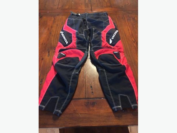 Honda/ Fox motorcross pants