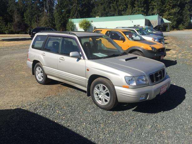 2000 Subaru Forester, Right Hand Drive Imported From Japan,