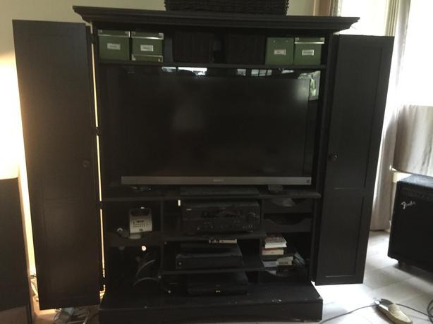 FREE:  TV entertainment armoire