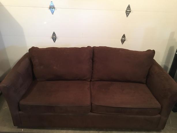 Microfibre Sofa and Loveseat