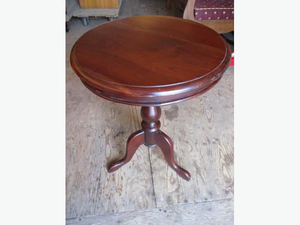 1930S MAHOGANY END TABLE FROM ESTATE