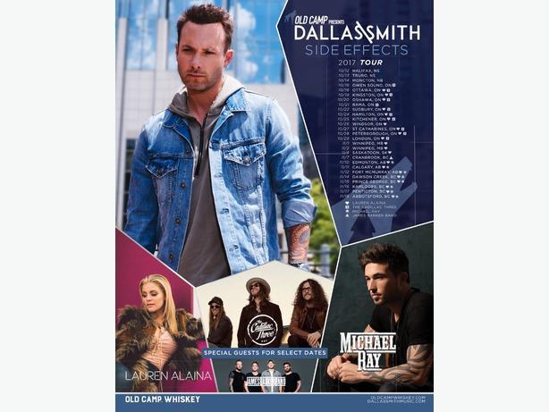 Dallas Smith concert tickets OBO!