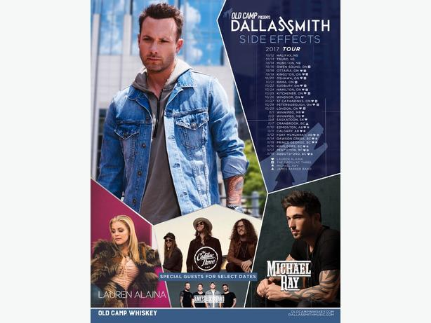 Dallas Smith tickets for sale OBO!