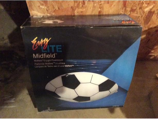 New in box soccer light