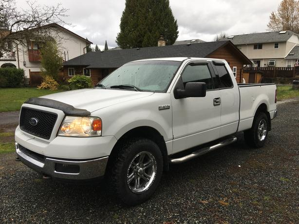 2004 Ford F150 4x4 4 door extended cab