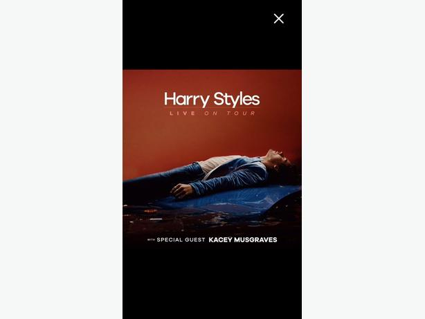 2 Tickets to Harry Styles Vancouver Concert on Friday, July 8th