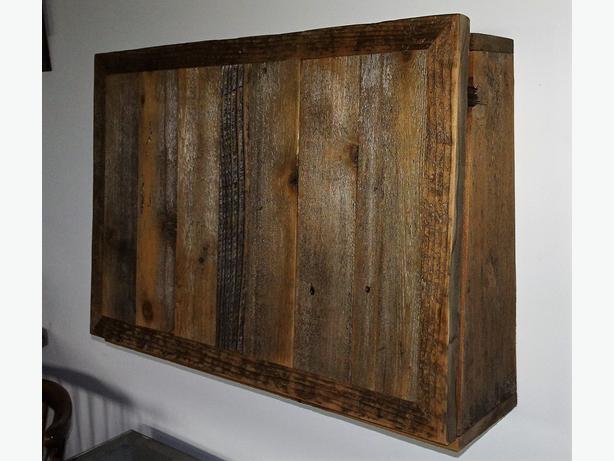 BARNWOOD Wall mounted office desk