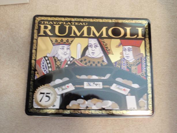 Rummoli Tray Game
