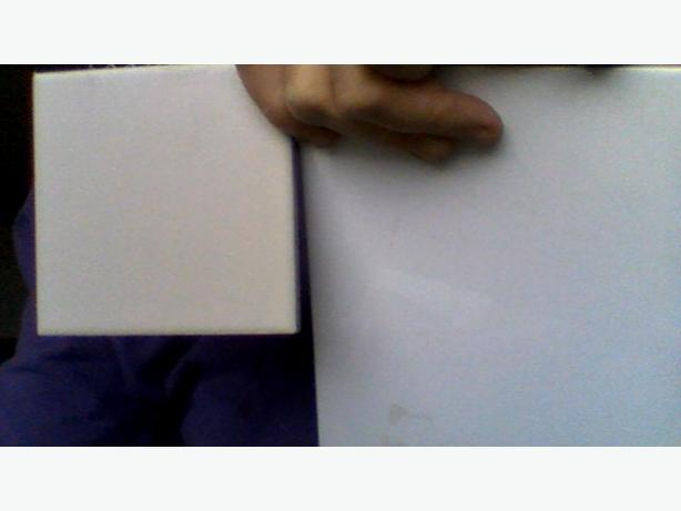 FREE:  white 4x4 and  6x8 wall tile