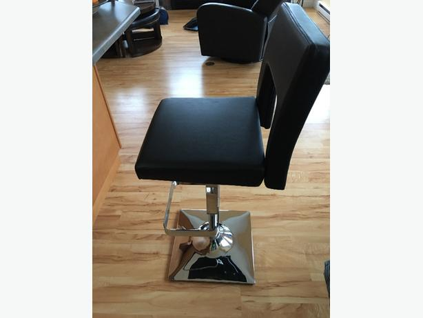 adjustable counter height swival chair