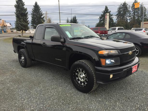 2004 Chevrolet Colorado LS, Ext Cab, 2WD, ONLY 163,281Kms