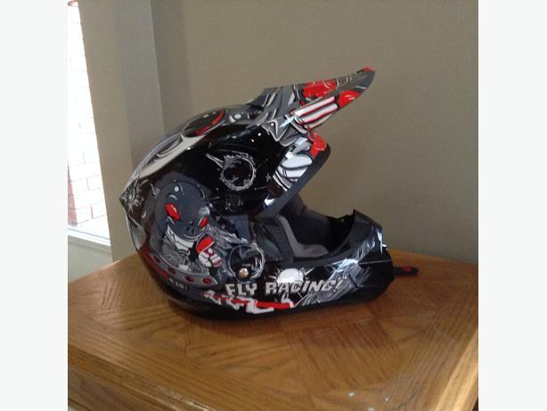 New BMX Helmet and Riding Gear